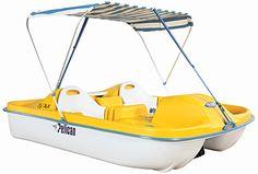 I've wanted a peddle boat since I was a kid!!!!!  SOOOO fun!
