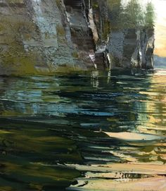 Work by artist and painter Lynn Boggess. Presenting a selection of his landscape paintings, the subjects of which reflect the diverse nature of West Virginia and its flora.