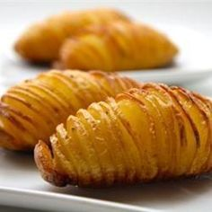 Hasselback aardappels @ http://allrecipes.nl