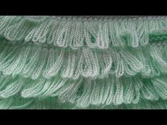 Fashion and Lifestyle Knitting Videos, Baby Knitting Patterns, Knitting Stitches, Makeup Wipes, Hand Work Embroidery, Bobe, Eyeshadow Brushes, Brick Stitch, Love Crochet