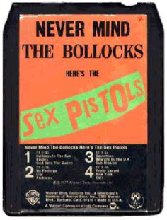 With all the talk of the vinyl revival, and the way that cassettes are being transformed into USB drives, one has to ask: What about the tape… 8 Track Tapes, Music Stuff, New Wave, Punk Rock, Album Covers, Music Videos, Noise Pollution, Postmodernism, Pistols