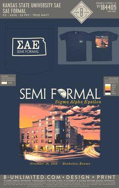 Sigma Alpha Epsilon Semi Formal Shirt | Fraternity Event | Greek Event #sigmaalphaepsilon #sae
