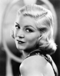Claire Trevor nice hairstyle