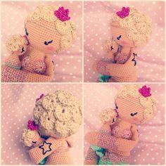 MICI the mermaid made by Eva Tralala Ma Liscious / crochet pattern by lalylala