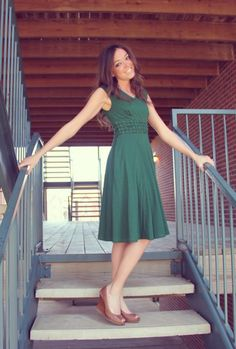 Lovely dress from eShakti! {Ten Feet Off Beale eShakti Review (and 25% off your order!)}