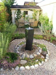 wie sie den steingarten gestalten können - tipps zur planung, Gartenarbeit ideen
