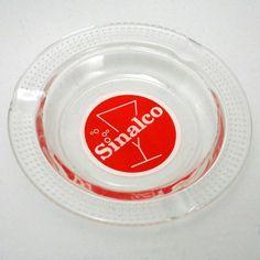 Aschenbecher SINALCO  - www.cyan74.com - vintage & pop culture   SOLD