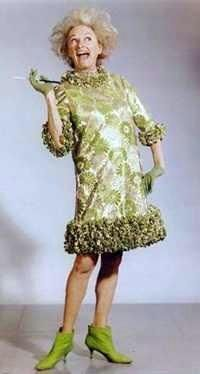 I don't know of anyone who is more a character than Phyllis Diller.