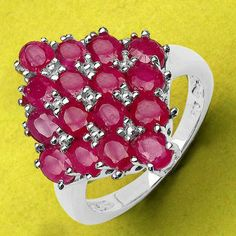 4.16CTW Genuine Glass Filled Ruby .925 Sterling Silver Ring - http://www.johareez.com/shop/justbuyit/rings/4-16ctw-genuine-glass-filled-ruby-925-sterling-silver-ring-11427/$10630228