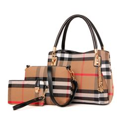 Handbags  Luxury Handbags Women Bags Designer Handbags High Quality Plaid Canvas Shoulder Bags Women Bag Sac A Main Femme De Marque ** AliExpress Affiliate's Pin. Offer can be found on AliExpress website by clicking the VISIT button