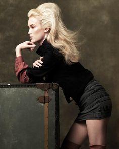Hair: Janer Stewart at Angels for Clynol     Make-up: Maddie Austin     Photography: Tom Leslie