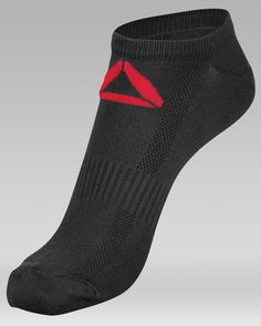 CrossFit HQ Store- Men's No Show Sock - 3 Pack - Men Buy Authentic CrossFit T-Shirts, CrossFit Gear, Accessories and Clothing