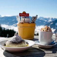 Austrian Recipes, Austrian Food, Dumpling, Life Is Good, Cravings, Panna Cotta, Family Ski, Pudding, Good Things