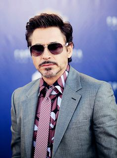 "Robert Downey Jr. at the premiere of ""Captain America: The First Avenger"""