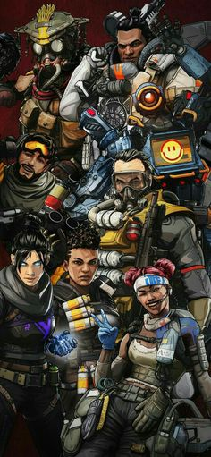 15 Best APEX LEGENDS COLORING PAGES images in 2019 ...