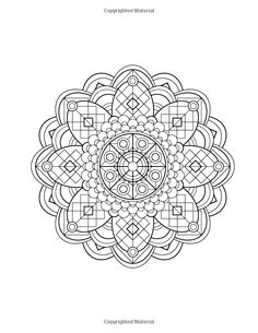 Art Deco Mandala