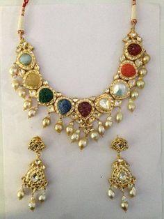 navaratna stone jewellery - Google Search