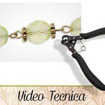 VIDEO TECNICA - HobbyPerline.com - Il negozio per la bigiotteria Fai da Te Photo Pattern, New Hobbies, Videos, Jewelery, Wire, Personalized Items, Chan Luu, Hobby, Flora