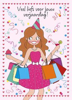 Veel liefs voor jouw verjaardag! #annesara #hallmark #verjaardagskaarten