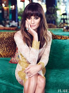 Lea Michele - January 2013 / Fashion Director: Elizabeth Cabral / Photographer: Max Abadian