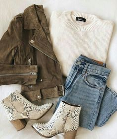 Mode Outfits, Trendy Outfits, Fashion Outfits, Jackets Fashion, Fashion Ideas, School Outfits, Fall Winter Outfits, Autumn Winter Fashion, Winter Sweater Outfits