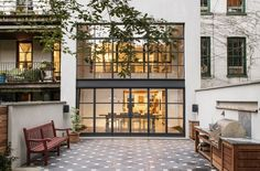 Steel factory windows and doors frame the views in some of our favorite gardens. New or salvaged, their industrial style mingles well with both modern and traditional architecture to add free-spirit informality to even the grandest garden. Here are 11 of our favorites:
