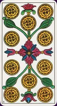 Example card from the Tarot Classic by Claude Burdel. DISCOVER MORE HERE: http://www.tarotacademy.org/tarot-classic-cards/