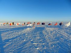 The hope is that the flag will help to create a greater sense of community among the researchers and support workers who call the continent home for parts of the year while helping other people all over the world to feel a greater sense of duty towards this remote territory. Half A Decade, Polar Night, Antarctica, Capital City, Continents, National Geographic, Geography, Airplane View, The Voice