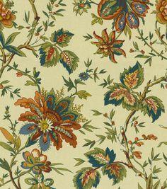 Home Decor Print Fabric-Waverly Felicite Cream
