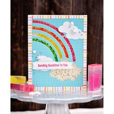 Rainbow Shaker Card Kit - 2 pack