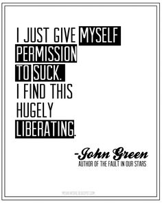 John Green~(I think on the subject of writing, but I could be wrong) Writing Quotes, Writing Tips, Words Quotes, Me Quotes, Sayings, Writing Contests, Author Quotes, Great Quotes, Quotes To Live By