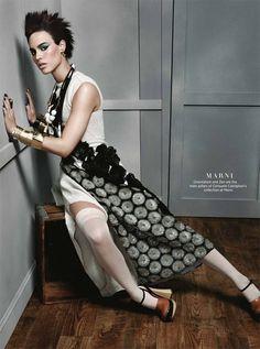Alana Bunte for Harper's Bazaar Singapore by Yu Tsai