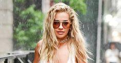 Celebs Make Rainy-Day Hair Look Good