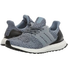 adidas Running UltraBOOST (Tactile Blue/Core Black) Women's Running... ($180) ❤ liked on Polyvore featuring shoes, athletic shoes, adidas athletic shoes, blue shoes, black running shoes, caged shoes and lightweight running shoes