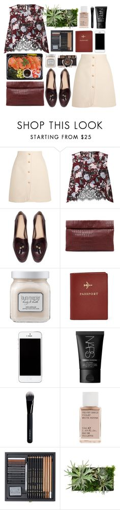 """Simple Outfit #146"" by rizkafathi ❤ liked on Polyvore featuring Gucci, Miss Selfridge, Zara, Marie Turnor, Laura Mercier, FOSSIL, NARS Cosmetics, Givenchy, Korres and WALL"