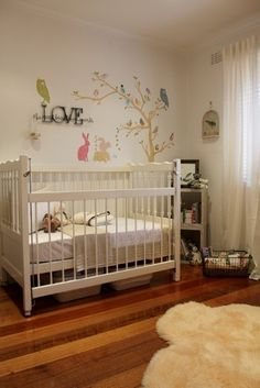 Nursery filled with nature love