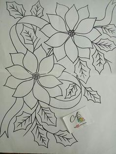 Marvelous Crewel Embroidery Long Short Soft Shading In Colors Ideas. Enchanting Crewel Embroidery Long Short Soft Shading In Colors Ideas. Floral Embroidery Patterns, Crewel Embroidery Kits, Learn Embroidery, Vintage Embroidery, Embroidery Designs, Machine Embroidery, Fabric Paint Designs, Christmas Paintings, Christmas Embroidery