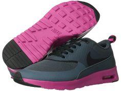 Nike Air Max Thea (Dark Armory Blue/Pink Foil/Black) - Footwear on shopstyle.com