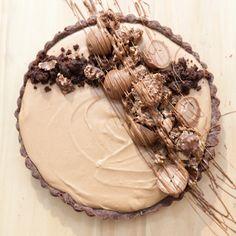 Whipped Chocolate Ganache Tart (masterchef Australia) Read Recipe by bromabakery Tart Recipes, Sweet Recipes, Baking Recipes, Dessert Recipes, Sweet Pie, Sweet Tarts, Just Desserts, Delicious Desserts, Yummy Food