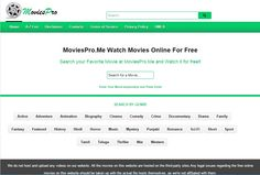 MoviesPro.Me - Watch Movies Online For Free