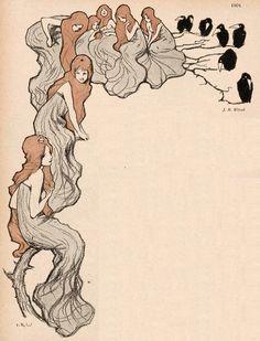 J.R. Witzel, Jugend magazine, 1901.