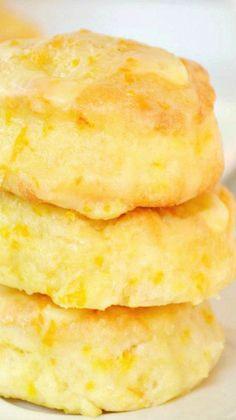 Mini Glazed Orange Biscuits