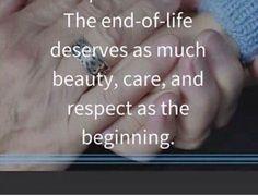 I love being a hospice nurse!
