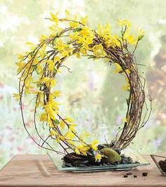 Use willow branches instead