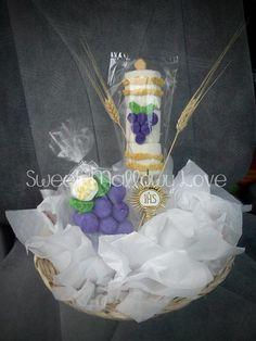 1st Communion Grape & Candle