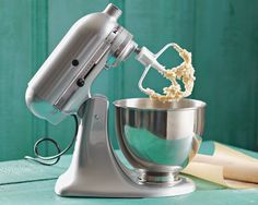 KitchenAid Artisan Stand Mixer (This what I have and use currently.  The pro series is what I want.)