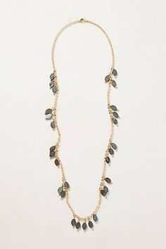 Lilac Bud Necklace l Anthropologie