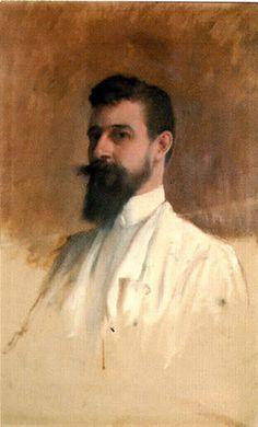 Santiago Rusiñol i Prats (Spanish 1861–1931) Self-portrait.