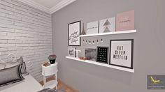 Preto, Branco, Cinza e Rose gold essa é a nova paleta de cores do meu quarto dos sonhos, com a ajuda de uma super designer e muito amor. @thaikaferreira_ @quartoterapia