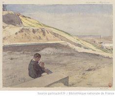 Montmartre, Clignancourt  Auguste Louis Marie Ottin, 1882